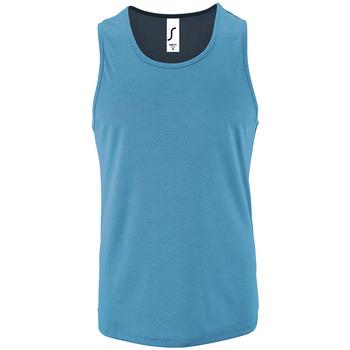 Oblačila Moški Majice brez rokavov Sols SPORT TT MEN Azul