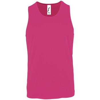 Oblačila Moški Majice brez rokavov Sols SPORT TT MEN Rosa