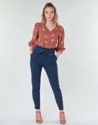 Oblačila Ženske Hlače s 5 žepi Vero Moda VMEVA Modra