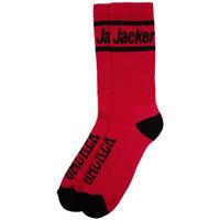 Tekstilni dodatki Moški Nogavice Jacker After logo socks Rdeča