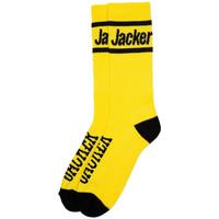Tekstilni dodatki Moški Nogavice Jacker After logo socks Rumena