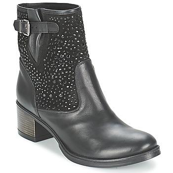 Čevlji  Ženske Gležnjarji Meline NERCRO Črna