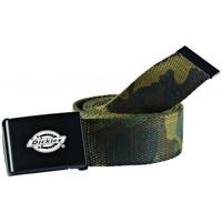 Tekstilni dodatki Moški Pasovi Dickies Orcutt  webbing belt Zelena