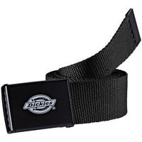 Tekstilni dodatki Moški Pasovi Dickies Orcutt  webbing belt Črna