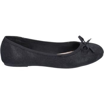 Čevlji  Ženske Balerinke Sara Lopez ballerine tessuto Nero