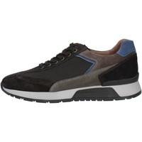 Čevlji  Moški Nizke superge NeroGiardini A901181U Black