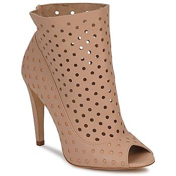 Čevlji  Ženske Nizki škornji Bourne RITA Nude
