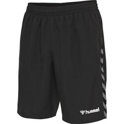 Oblačila Moški Kratke hlače & Bermuda Hummel Short  Authentic Training noir/blanc