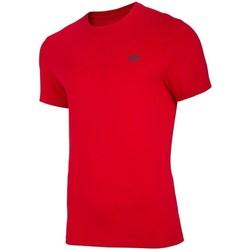 Oblačila Moški Majice s kratkimi rokavi 4F TSM003 Rdeča