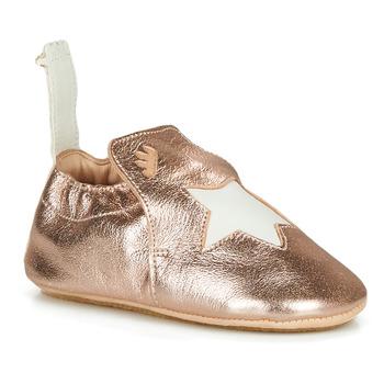 Čevlji  Otroci Nogavice Easy Peasy BLUBLU ETOILE Rožnata / Zlata