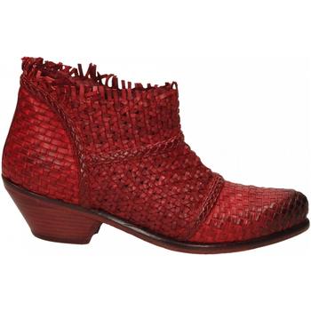 Čevlji  Ženske Gležnjarji J.p. David PAPUA INTRECCIATO rosso