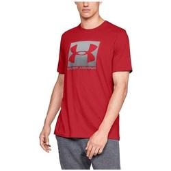 Oblačila Moški Majice s kratkimi rokavi Under Armour Boxed Sportstyle Rdeča