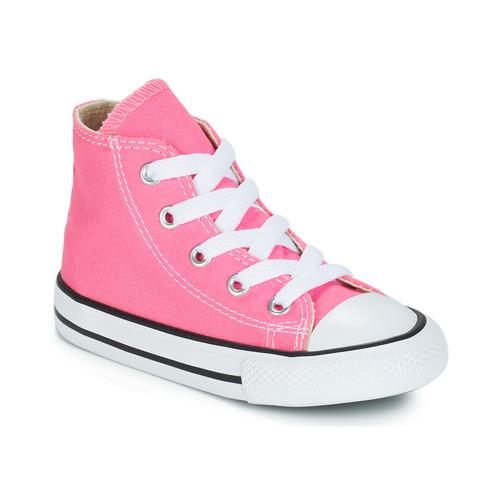 Čevlji  Deklice Visoke superge Converse CHUCK TAYLOR ALL STAR CORE HI Rožnata