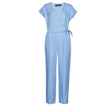Oblačila Ženske Kombinezoni Vero Moda VMLAURA Modra / Svetla