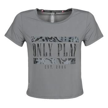 Oblačila Ženske Majice s kratkimi rokavi Only Play  Siva