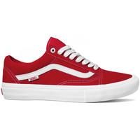 Čevlji  Moški Skate čevlji Vans Old skool pro Rdeča
