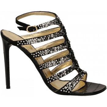 Čevlji  Ženske Sandali & Odprti čevlji Ororo CAMOSCIO nero
