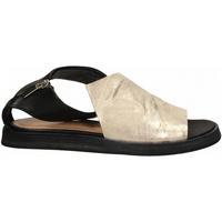 Čevlji  Ženske Sandali & Odprti čevlji Salvador Ribes METAL PARKER + MATRIX panna-nero