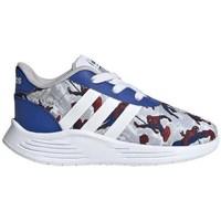 Čevlji  Otroci Nizke superge adidas Originals Lite Racer 20 I Rdeča,Siva,Modra