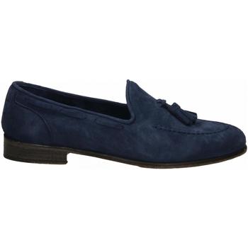Čevlji  Moški Mokasini J.p. David CAPRA SCAMOSCIATO azzurro