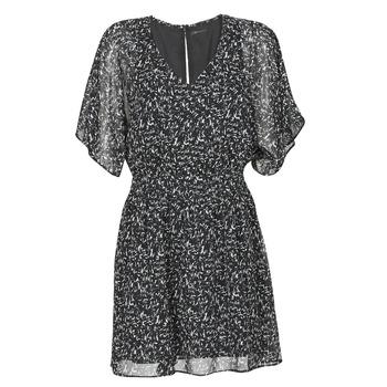 Oblačila Ženske Kratke obleke Ikks BR30075 Črna
