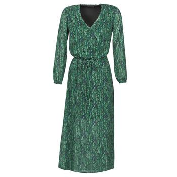 Oblačila Ženske Dolge obleke Ikks BR30095 Zelena