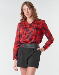Oblačila Ženske Topi & Bluze Ikks BR13085 Rdeča