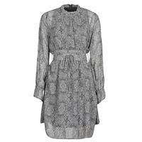 Oblačila Ženske Kratke obleke Ikks BR30165 Siva