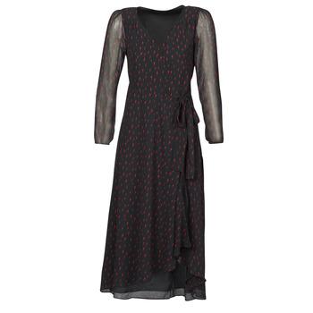 Oblačila Ženske Dolge obleke Ikks BR30225 Črna