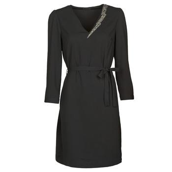 Oblačila Ženske Kratke obleke Ikks BR30265 Črna