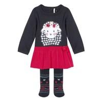 Oblačila Deklice Otroški kompleti 3 Pommes 3R36050-85 Večbarvna