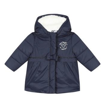 Oblačila Deklice Puhovke 3 Pommes 3R42012-49 Modra