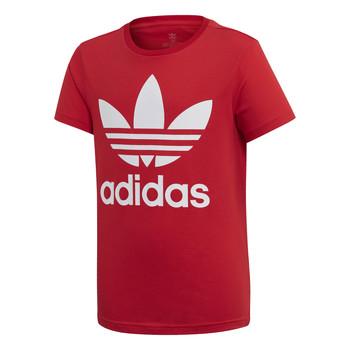 Oblačila Otroci Majice s kratkimi rokavi adidas Originals TREFOIL TEE Rdeča