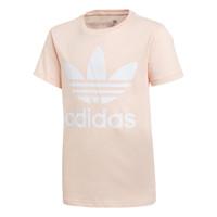 Oblačila Deklice Majice s kratkimi rokavi adidas Originals TREFOIL TEE Rožnata