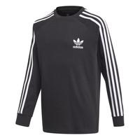 Oblačila Dečki Majice z dolgimi rokavi adidas Originals 3STRIPES LS Črna