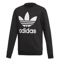 Oblačila Otroci Puloverji adidas Originals TREFOIL CREW Črna