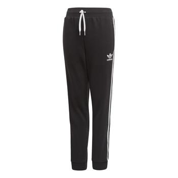 Oblačila Otroci Spodnji deli trenirke  adidas Originals TREFOIL PANTS Črna