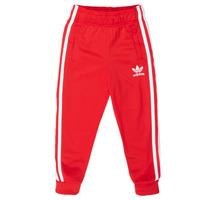 Oblačila Otroci Spodnji deli trenirke  adidas Originals SST TRACKPANT Rdeča
