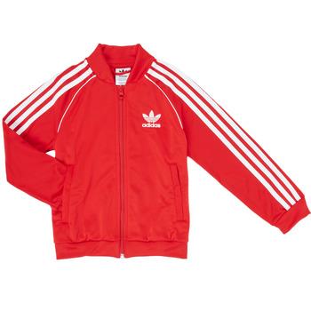 Oblačila Dečki Športne jope in jakne adidas Originals SST TRACKTOP Rdeča