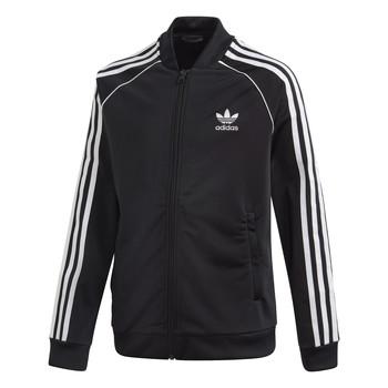 Oblačila Otroci Športne jope in jakne adidas Originals SST TRACKTOP Črna