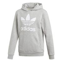Oblačila Dečki Puloverji adidas Originals TREFOIL HOODIE Siva