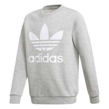 Oblačila Otroci Puloverji adidas Originals TREFOIL CREW Siva