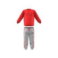 Oblačila Otroci Otroški kompleti adidas Performance MH LOG JOG FL Rdeča / Siva
