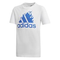 Oblačila Dečki Majice s kratkimi rokavi adidas Performance JB BOS GRAPH Bela
