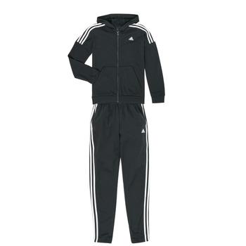 Oblačila Dečki Trenirka komplet adidas Performance JB COTTON TS Črna