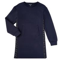 Oblačila Deklice Kratke obleke Emporio Armani 6H3A07-1JDSZ-0920 Modra