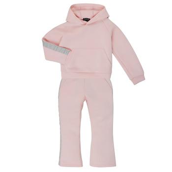 Oblačila Deklice Trenirka komplet Emporio Armani 6H3V01-1JDSZ-0356 Rožnata