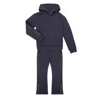 Oblačila Deklice Trenirka komplet Emporio Armani 6H3V01-1JDSZ-0920 Modra