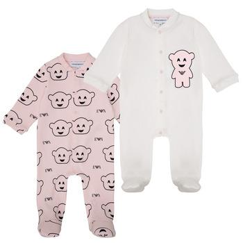 Oblačila Deklice Pižame & Spalne srajce Emporio Armani 6HHV06-4J3IZ-F308 Rožnata
