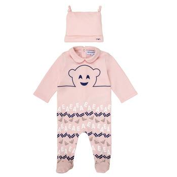 Oblačila Deklice Pižame & Spalne srajce Emporio Armani 6HHV08-4J3IZ-0355 Rožnata
